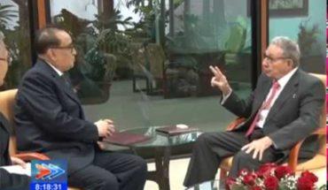 Recibió Raúl a vicepresidente Partido del Trabajo de Corea