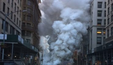 Video: evacuan edificios por fuerte explosión de tuberías en NY