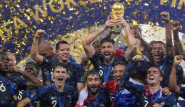 Vive la France! -Selección francesa se corona campeona del mundo
