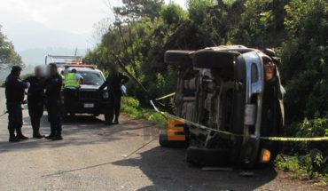 Volcadura de camioneta en Tarécuato, Michoacán, deja un muerto y tres heridos