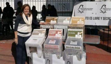 Votan a Margarita Zavala pese a renuncia