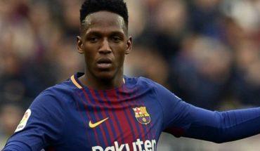 Yerry Mina acepta que puede salir del Barcelona y dice dónde quiere jugar