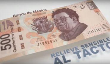 ¿Quién aparecerá en el nuevo billete de 500 pesos?