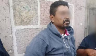 """""""Tigres"""" y policías capturan a presunto ladrón que azolaba comercios en el centro de Morelia"""
