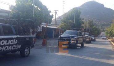 Abandonan cadáver baleado y encobijado en Apatzingán, Michoacán