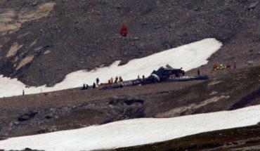 Accidente de avión en Los Alpez suizos, deja 20 muertos
