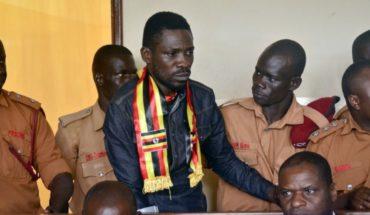 Acusan de traición a legislador ugandés antes estrella pop
