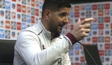 "Agustín Orion: ""Yo estoy muy feliz acá en Colo Colo"""