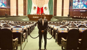 ''Aquí (en la Cámara de Diputados) te cuidan más que en las novelas'', dice Ernesto D'Alessio
