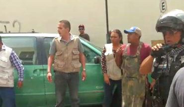 Así quedó el inspector de Mercados de Morelia tras enfrentamiento