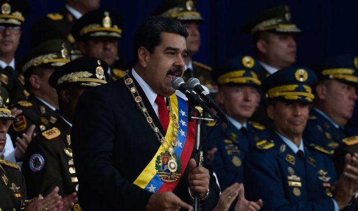 Atentan contra Nicolás Maduro con un dron