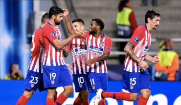 Atlético pasa por encima del Madrid y se corona en la Supercopa de Europa