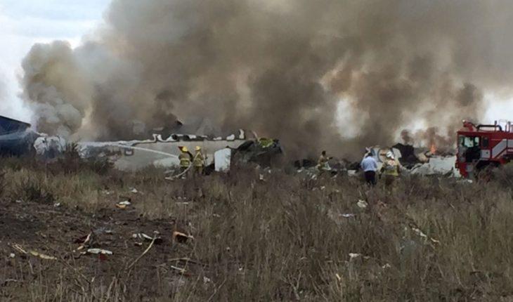 Avión accidentado en Durango no despegó ni logró altura: SCT
