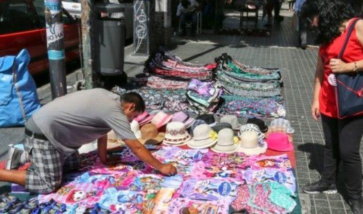 Bajaron las ventas callejeras en la Ciudad de Buenos Aires