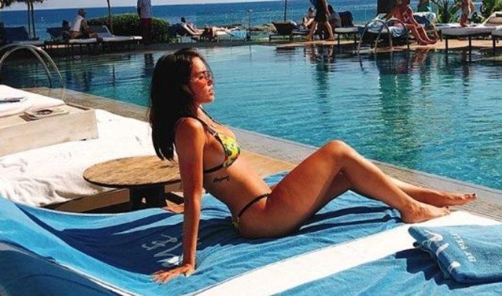 Bajo el sol y en bikini: el sensual baile de Lali Espósito en Ibiza