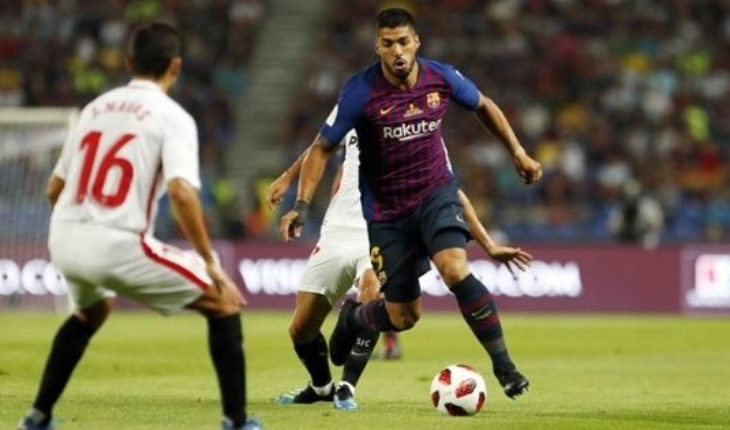 Barcelona, campeón de la Supercopa de España: 2 a 1 a Sevilla con un golazo de Dembélé