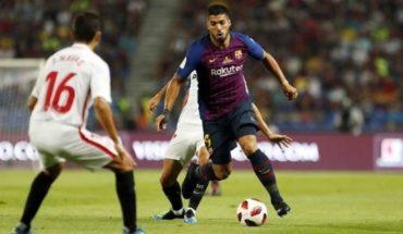 Barcelona empata 1 a 1 con Sevilla en la final de la Supercopa de España