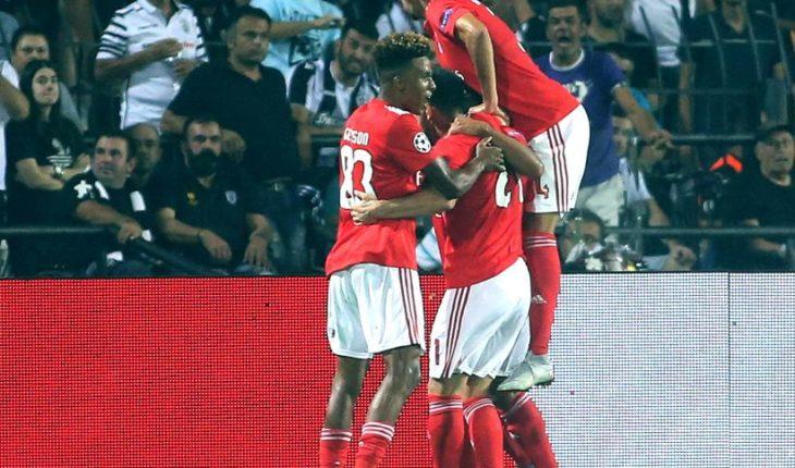 Benfica de Nicolás Castillo clasificó a la fase de grupos de la Champions League