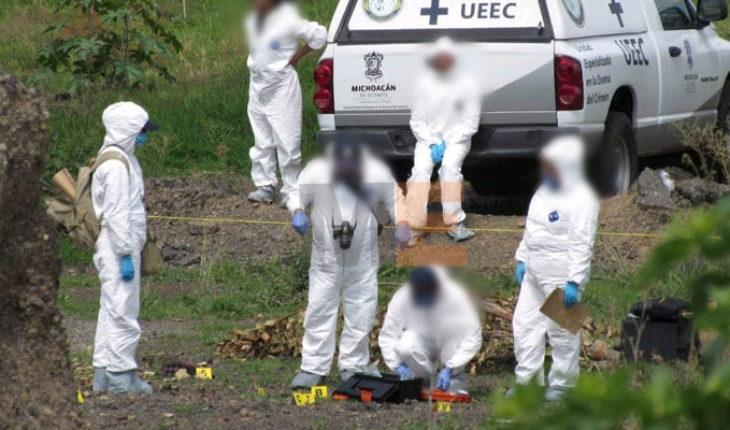 Binomios caninos localizan a pareja sepultada clandestinamente en Morelia, Michoacán