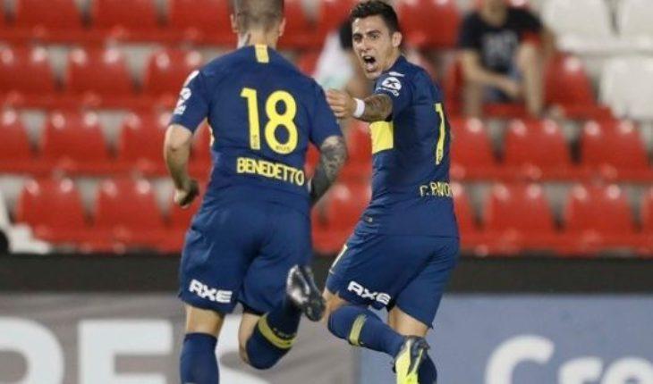 Boca ganó 4 a 2 a Libertad y se metió en los cuartos de final