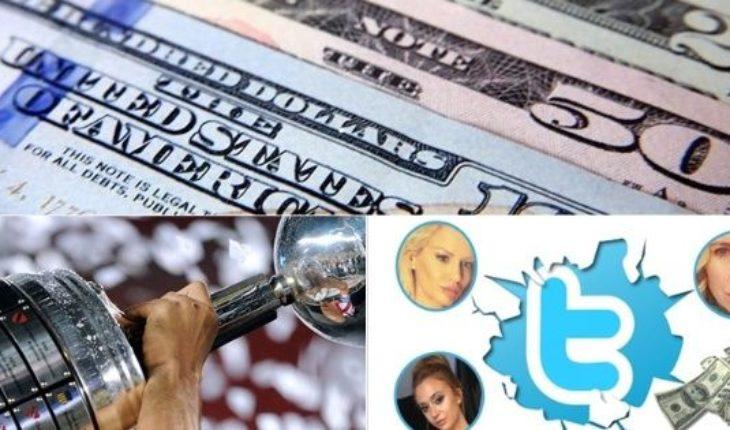 Cómo abrió el dólar, la reacción de los famosos ante la megadevaluación, fechas y sedes de los cuartos de la Copa, Cinthia contra Defederico y mucho más...
