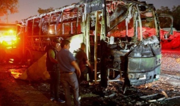 Cae presunto responsable del incendio de autobús en Jalisco