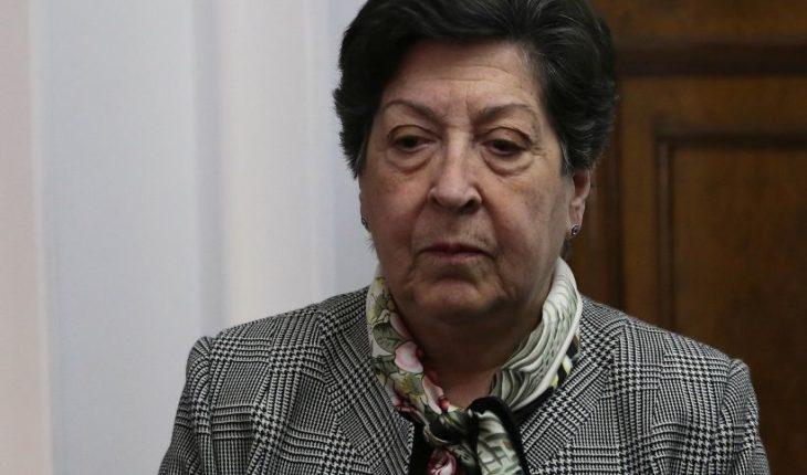 """Carmen Frei pide al Gobierno ser """"consecuente"""" en su postura sobre DD.HH. por caso Castillo"""