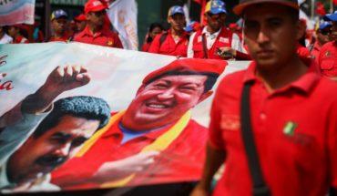 Chavismo marchó en apoyo a Maduro tras presunto atentado