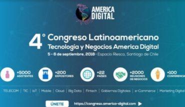 """Chile será por 2 días la """"capital tecnológica y de negocios de américa latina"""""""