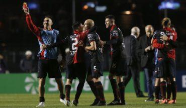 Colón superó 1-0 a Sao Paulo por la Copa Sudamericana
