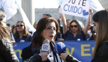 """Colegio de Enfermeras: """"Esperamos reunirnos en las próximas horas con el ministro Santelices"""""""
