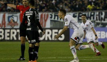 Colo Colo le ganó 1-0 a Corinthians en su regreso a los octavos de Copa Libertadores