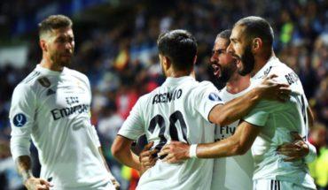 Con doblete de Benzema, el Madrid goleó al Girona
