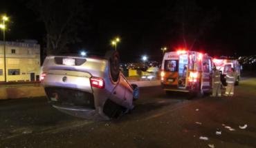 Cuatro heridos en accidente vehicular en el Periférico de Morelia, Michoacán