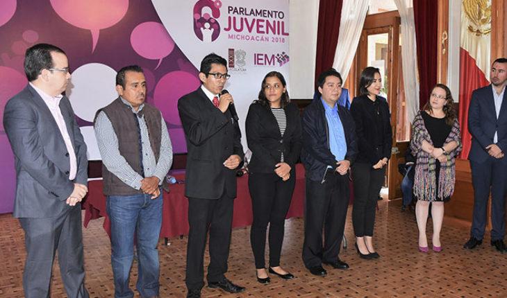 Da inicio el 6º Parlamento Juvenil Michoacán 2018