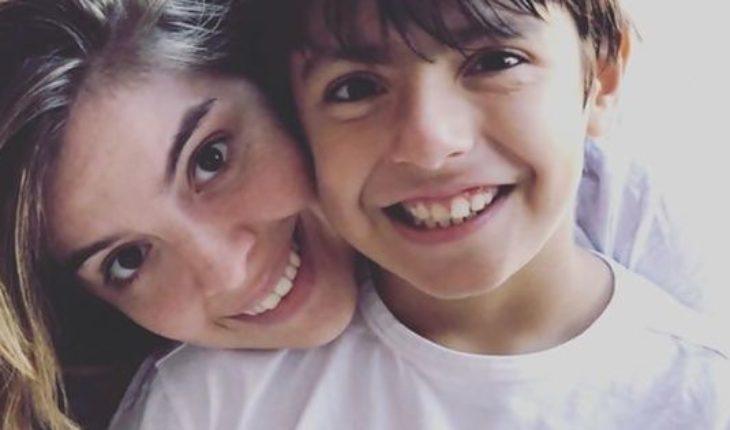 Dalma Maradona emocionó a su hermana Gianinna al saludar a su sobrino con una tierna postal