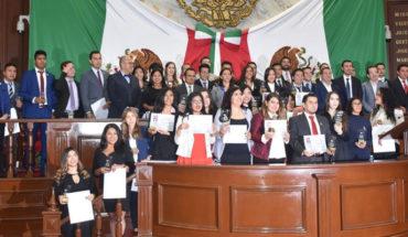 Debate de ideas en el Parlamento Juvenil Michoacán fortalece la democracia