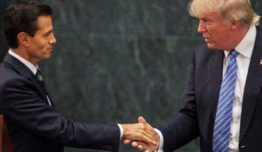Defiende Peña Nieto 'aquella' visita de Trump a México