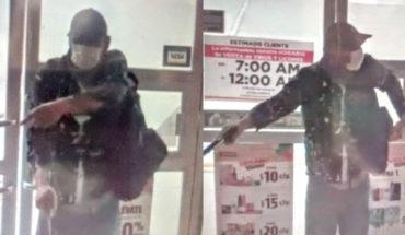 Delincuente asalta tiendas de conveniencia en Morelia; lo busca la Policía