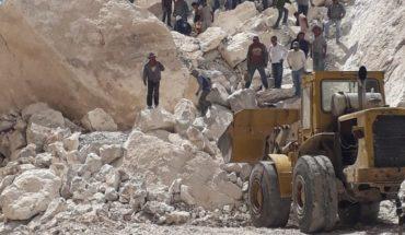 Derrumbe de mina en Hidalgo deja una persona muerta