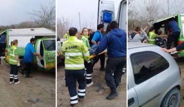 Después de 6 días rescataron a dos jóvenes atrapados en una zona pantanosa
