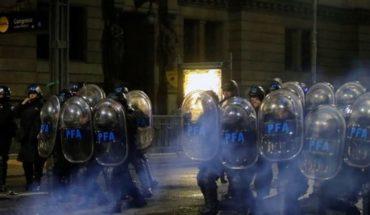 Detenidos tras incidentes entre la Policía y manifestantes a favor de la legalización del aborto