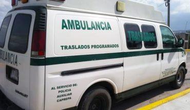 Detienen en Hidalgo a ambulancia que trasladaba hidrocarburo