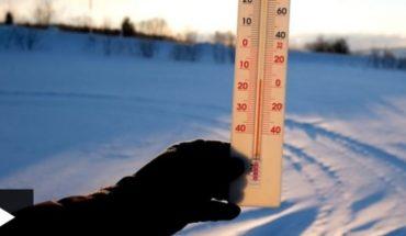 Dirección Meteorológica de Chile pronostica temperaturas bajo cero desde la Región Metropolitana hasta Magallanes