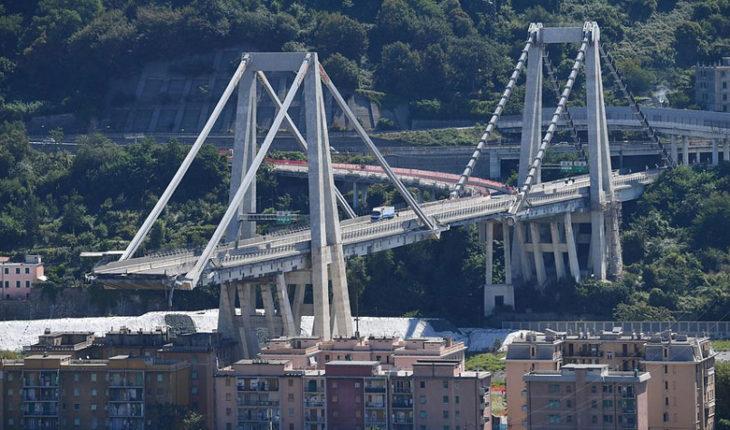 Diseñador del puente colapsado en Genova dónde murieron tres chilenos advirtió sobre riesgos