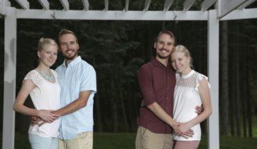 Dos parejas de gemelos idénticos se casarán en Michigan