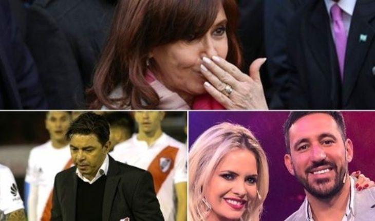 El Senado debate los allanamientos a Cristina Kirchner, paro universitario en las redes, River sin paz, Ale Maglietti alienta a Jonás y mucho más...