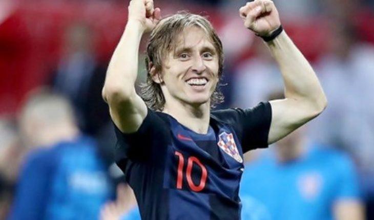 """El mensaje de Luka Modric a Mauricio Macri y a los argentinos: """"Muchos éxitos en el futuro"""""""