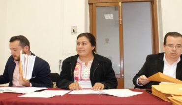 El viernes se definirá a integrantes del 6° Parlamento Juvenil: Belinda Iturbide Díaz