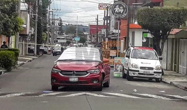 Empistolados en motocicleta asesinan a una pareja en Uruapan, Michoacán